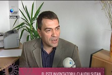 Claudiu Sutan, un roman cu DOUA INVENTII PREMIATE la Geneva VIDEO