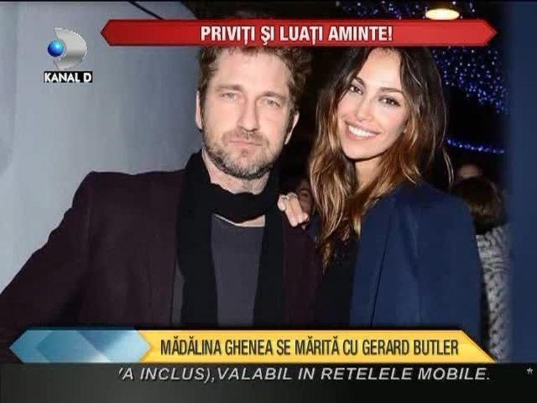 Madalina Ghenea SE MARITA cu Gerard Butler! Vezi cat este dispus sa scoata actorul din buzunar pentru o NUNTA DE VIS VIDEO