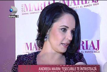 "Andreea Marin: ""Esecurile te demotiveaza, dar reusitele te fac sa mergi inainte"" VIDEO"