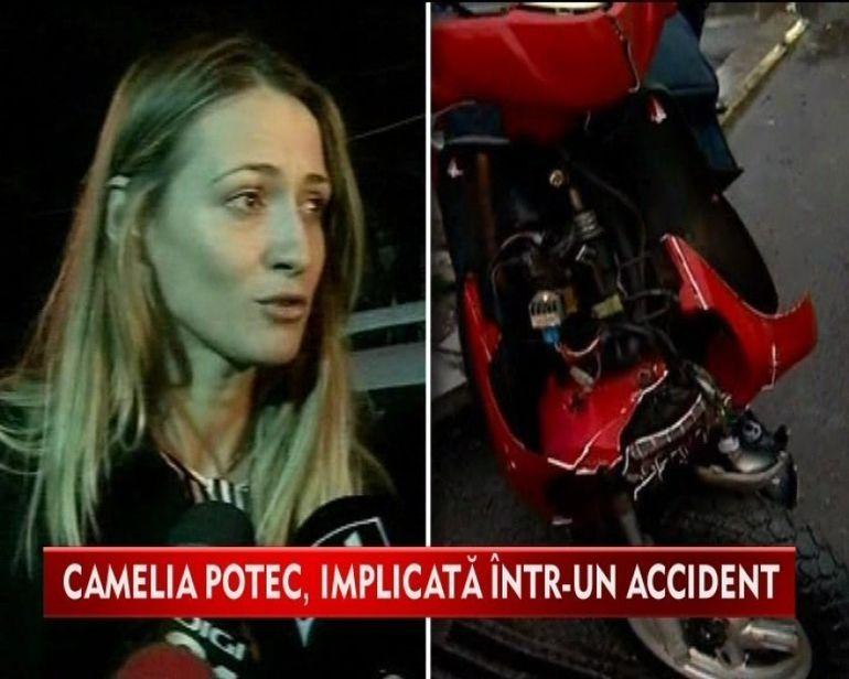 Ion Tiriac si inotatoarea Camlia Potec, implicati intr-un accident rutier!