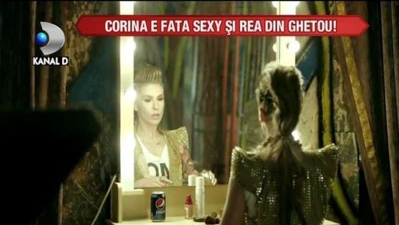 Corina, SEXY SI REA in cel mai nou videoclip VIDEO