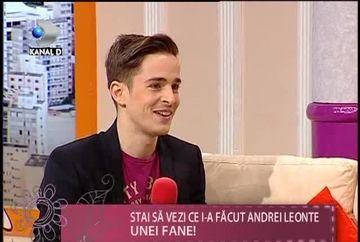 Andrei Leonte a prezentat IN PREMIERA piesa pe care o va canta la Eurovision. Iti place cum suna? VIDEO