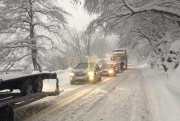 Accident pe Valea Oltului: Traficul a fost blocat timp de o ora jumatate!
