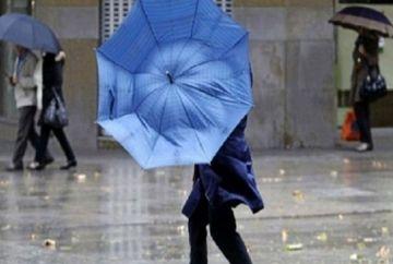 AVERTIZARE METEOROLOGICA: Precipitatii in toate regiunile tarii!