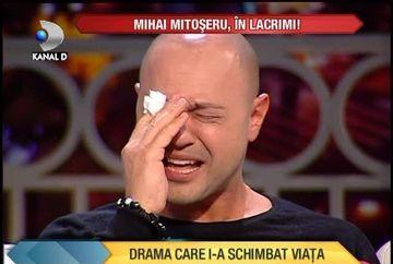 "Mihai Mitoseru, IN LACRIMI! A vorbit in premiera despre DRAMA care i-a schimbat viata: ""Am vrut sa ma omor!"" VIDEO"