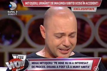 EXCLUSIV! Mihai Mitoseru A PLANS IN HOHOTE. Este bantuit de imaginea iubitei ucise in accident