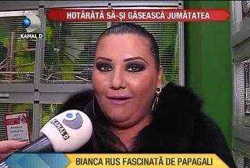 Bianca Rus, SINGURA si nelinistita! Isi doreste un papagal de companie VIDEO