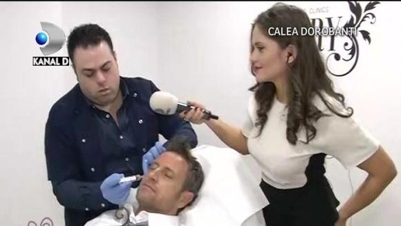 """TRATAMENT REVOLUTIONAR. Catalin Botezatu SI-A INJECTAT SANGE IN FATA in direct la """"Draga mea prietena"""" VIDEO"""