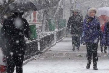 AVERTIZARE METEO: Iarna se intoarce! Meteorologii anunta NINSORI si vant puternic in mai multe zone din tara