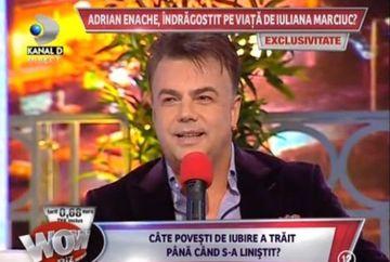 """Eternul cuceritor S-A CUMINTIT? A ales-o Adrian Enache pe Iuliana Marciuc? """"Nu pot fi barbatul unei singure femei"""""""