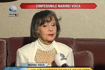 """Marina Voica: """"Mi-e ingrozitor de frica de moarte"""" VIDEO"""