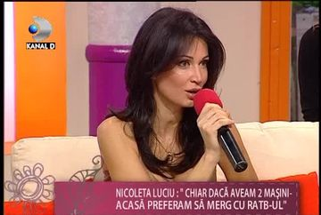 "Nicoleta Luciu, o femeie modesta: ""Chiar daca aveam 2 masini acasa preferam sa merg cu RATB-ul"" VIDEO"