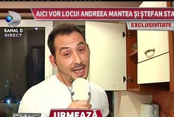 "Stefan Stan catre Andree Mantea: ""Casa asta e a noastra de azi inainte""! Cum arata locuinta celor doi!"