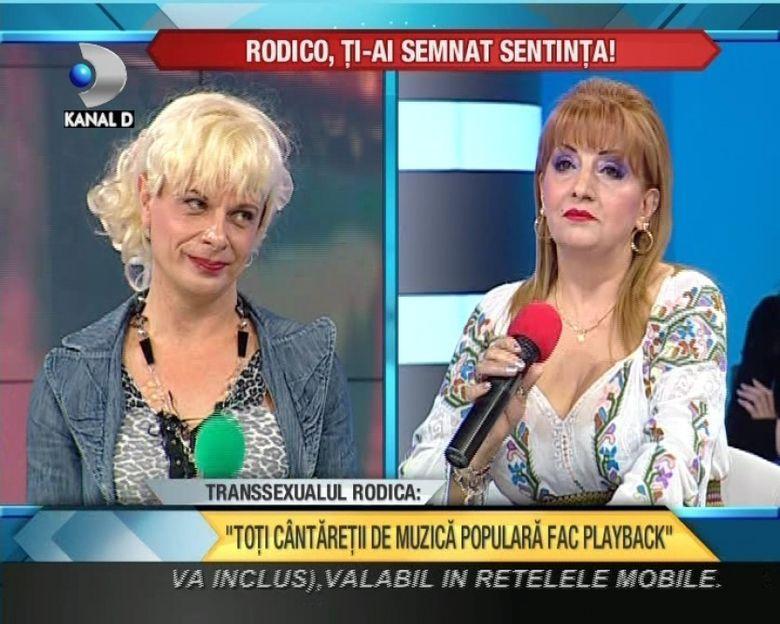 Ileana Ciuculete L-A DESFIINTAT pe transexualul Rodica! VIDEO