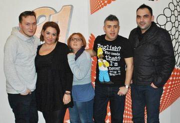 Oana Roman a spus bancuri despre ea la Radio 21!