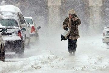 Iarna se intoarce! AVERTIZAZRE METEO: COD GALBEN de ninsori si viscol