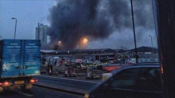 TRAGEDIE la Londra! Un elicopter S-A PRABUSIT in centrul orasului. Primele imagini dupa accident VIDEO