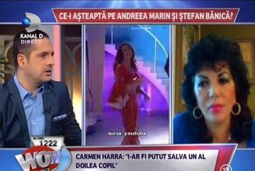 """Carmen Hara: """"O vad pe Andreea intr-o relatie stabila abia peste trei ani"""""""
