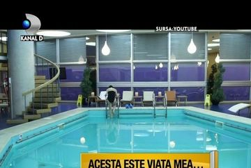 Clipul cu Maria Dinulescu in piscina, VIRAL pe Internet! De ce a fost actrita subiect de PARODIE VIDEO