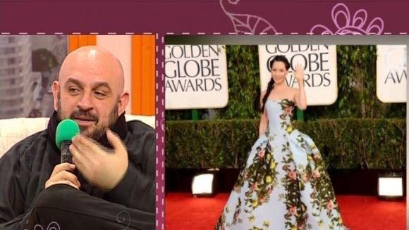 """Criticul de moda Alin Galatescu: """"Cea mai urata rochie pe care am vazut-o vreodata la Globurile de Aur!"""" VIDEO"""