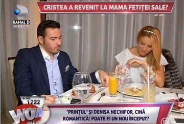 Adrian Cristea s-a intors in bratele Denisei Nechifor? Reporterii WOWbiz i-au surprins impreuna la o cina romantica