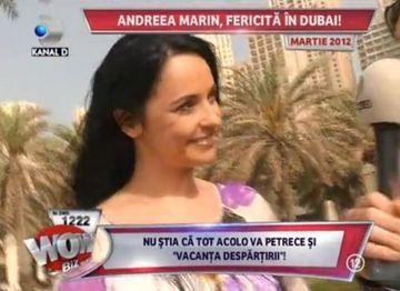 IMAGINI SENZATIONALE cu Andreea Marin in locul in care isi petrece ultima vacanta ca sotie a lui Stefan Banica Jr FOTO