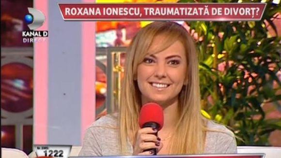 Roxana Ionescu, AFECTATA de un divort traumatizant?