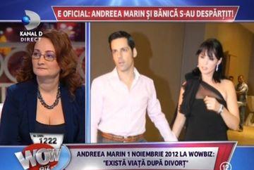 "Tatiana Solomon, jurnalist de monden: ""In ultimul an de zile Andreea Marin a vorbit foarte mult despre divort"""