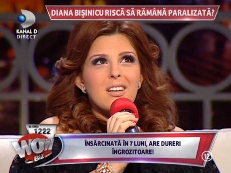 Diana Bisinicu, TINTUITA LA PAT din cauza sarcinii - Kanal D