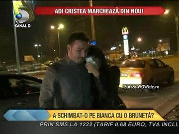 Adrian Cristea, surprins in IPOSTAZE COMPROMITATOARE! A schimbat-o pe Bianca cu o bruneta? VIDEO