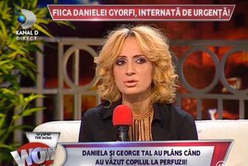 Daniela Gyorfi, CLIPE DE GROAZA in seara de Revelion