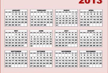 Sarbatori legale in 2013! Cate zile libere vom avea in noul an
