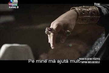 """Bijuteriile purtate de actori in """"Suleyman Magnificul - Sub domnia iubirii"""" sunt veritabile si valoreaza SUTE DE MII DE EURO VIDEO"""