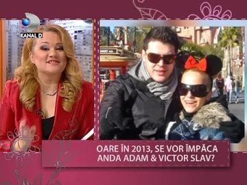 Se vor impaca in 2013 Anda Adam si Victor Slav? Vezi ce spun astrele VIDEO