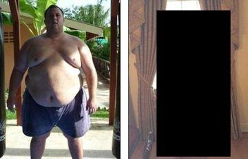 TRANSFORMARE ULUITOARE! A slabit 150 de kilograme dupa ce medicii i-au mai dat de trait 5 ani. Vezi ce METODA a folosit FOTO