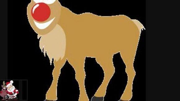 Motivul pentru care renul Rudolf are nasul rosu VIDEO