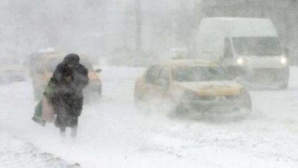 AVERTIZARE meteo: COD PORTOCALIU de ninsori si vant in Bucuresti si in tara! Un CICLON din Bulgaria ar putea afecta si Romania