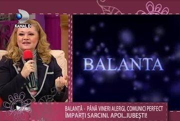 HOROSCOPUL SAPTAMANII - Balanta: Pana vineri alergi, comunici perfect, imparti sarcini. Vezi aici ce iti rezerva astrele VIDEO