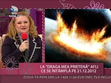 E saptamana SFARSITULUI LUMII? Vezi ce spune Mariana Cojocaru despre data de 21.12.2012 VIDEO