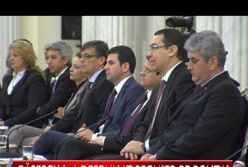 Traian Basescu l-a desemnat pe Victor Ponta pentru functia de prim-ministru VIDEO