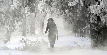GER in Romania! Temperatura a ajuns la -31 de grade. Vezi unde a fost cel mai frig
