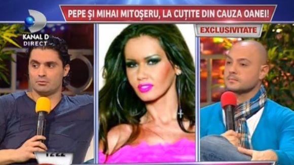 Pepe si Mihai Mitoseru, LA CUTITE din cauza Oanei Zavoranu! E Pepe gelos?