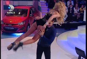 Liviu Varciu a luat-o pe sus pe Andreea Balan! Au dansat Rock&Roll ca doi nebuni VIDEO