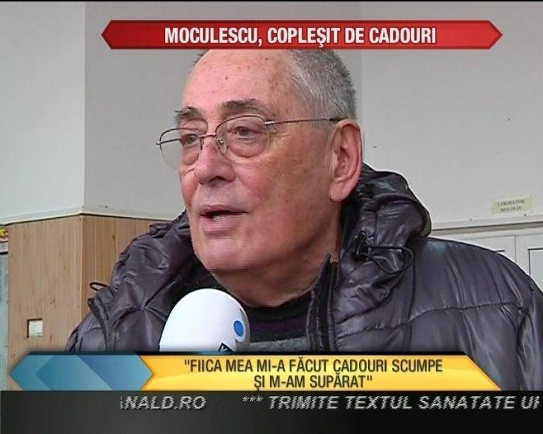 Horia Moculescu si fiica lui, Nidia au fost rasfatati de Mos Nicolae VIDEO