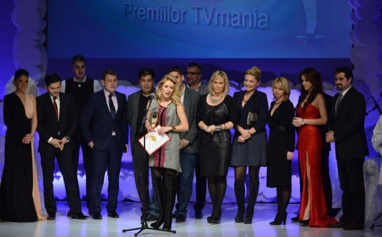 Kanal D a castigat trofeul pentru cea mai spectaculoasa evolutie a unei televiziuni la Premiile TV Mania