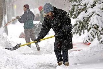 AVERTIZARE METEO: COD GALBEN de ninsori. Vezi ce zone sunt afectate si cat va ninge
