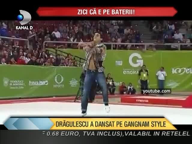 Zici ca e pe baterii! Marian Dragulescu a ridicat o sala intreaga in picioare in Mexic dupa ce a dansat pe Gangnam Style VIDEO