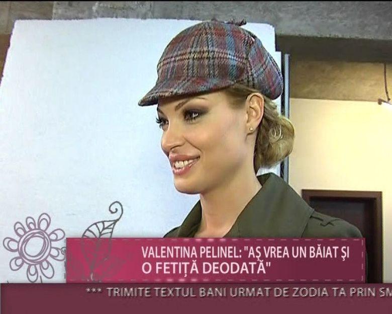 """Valentina Pelinel: """"Sotul meu este foarte critic atunci cand nu ii place o poza cu mine"""" Afla ce spune modelul despre dorinta de a avea un copil!"""