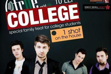 Regal de coveruri rock pentru studenti cu The dAdA la True College Party, miercuri in True Club!