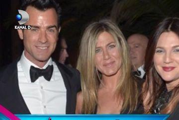 Jennifer Aniston i-a invitat pe Brad Pitt si Angelina Jolie la nunta ei cu Justin Theroux VIDEO